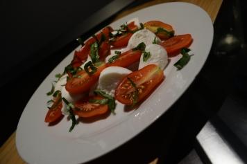 classic mozzarella tomato salad