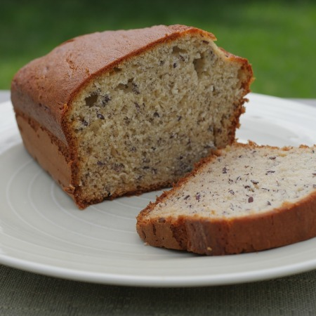 Healthy 5 ingredient Banana Bread | 2412life
