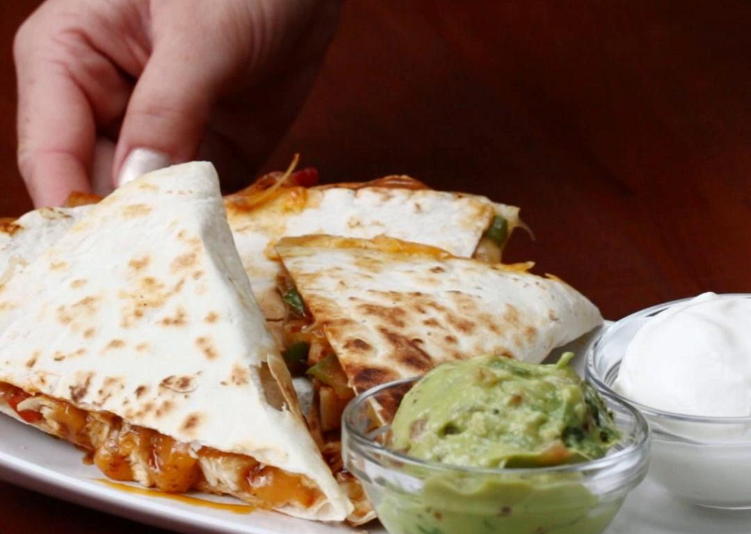 Chicken Fajita Quesadilla | 2412life