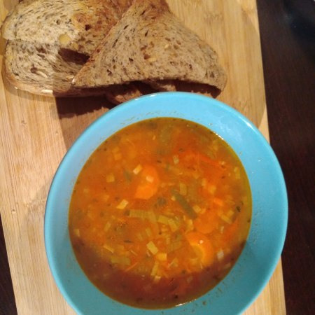 easy, healthy warming tomato soup   2412life