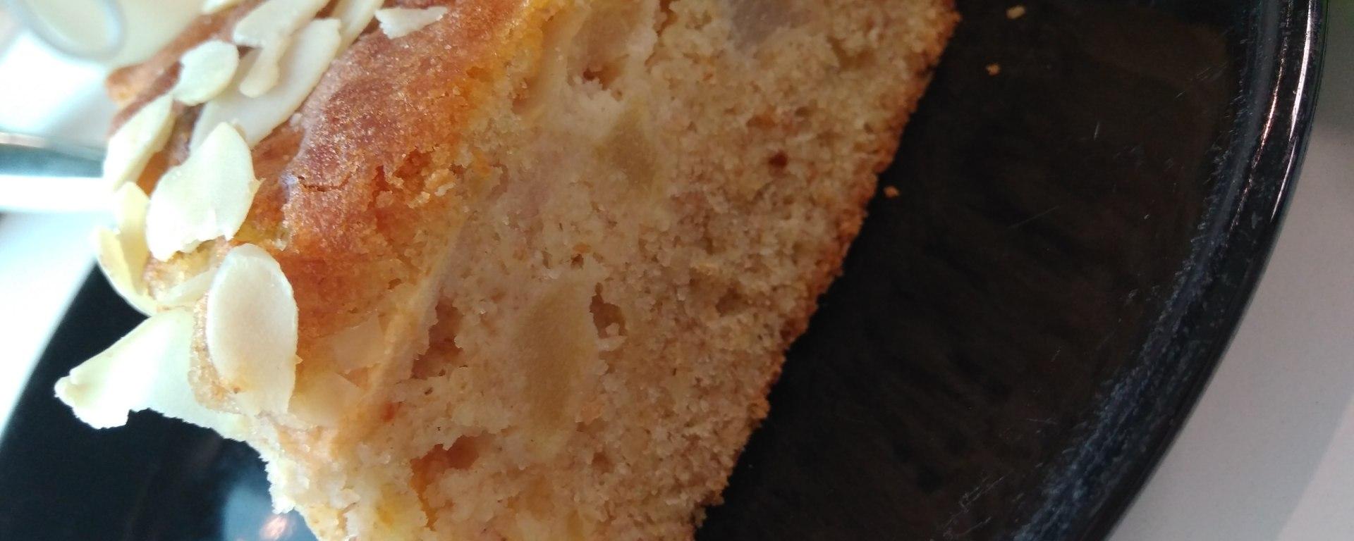 Apple & Pear Vanilla cake